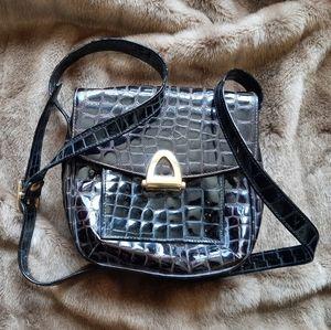 Vintage Ro-el crossbody purse leather made in Ca